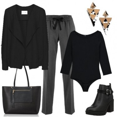 Outfit Black is black