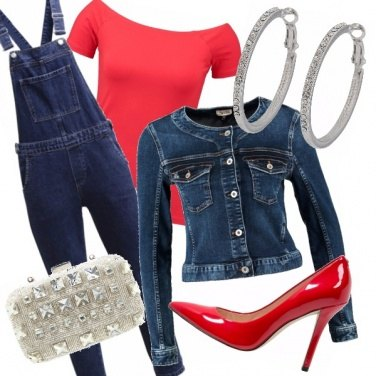 Outfit Salopette chic