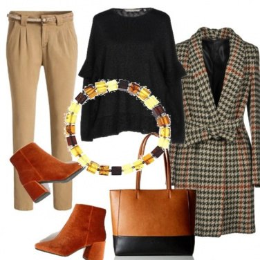 Outfit I colori caldi dell\'autunno