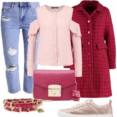 Outfit Comodo ma femminile