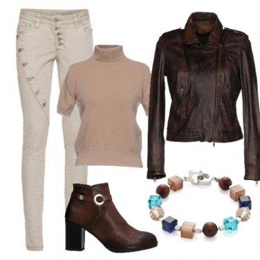 Outfit Tinte caffè