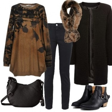 Outfit Il Maxypull autunnale