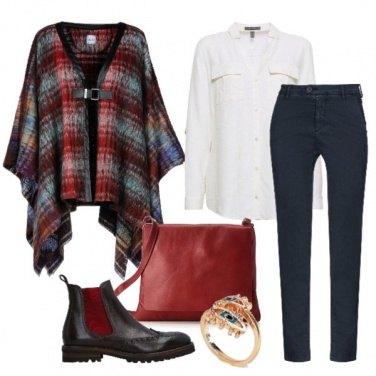 Outfit Camicia e mantella