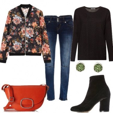 Outfit Bomber fantasia