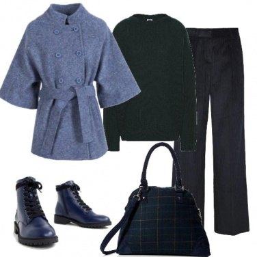 Outfit Bluette e nero