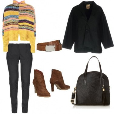 Outfit Trendy, con colore