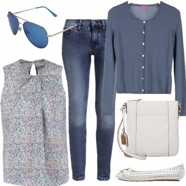 Outfit spring in jeans