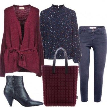 Outfit La blusa a fantasia