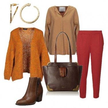 Outfit Colori caldi dell\'inverno