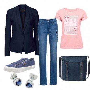 Outfit Sui jeans la giacca non guasta!