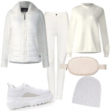 Outfit Dress code white