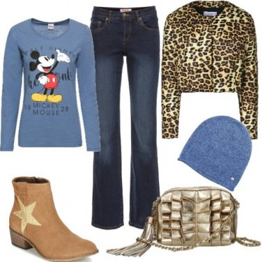 Outfit Una Star per un look trendy