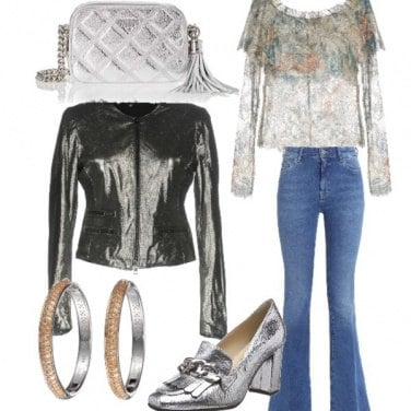 Outfit Tocco argentato