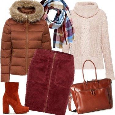 Outfit Gli stivaletti color ruggine