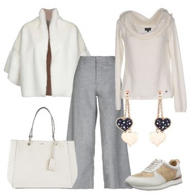 Outfit Splendida in sneakers