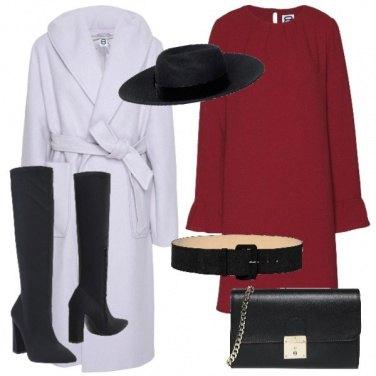 Outfit Il cappotto bianco