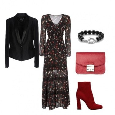 Outfit Red Chic