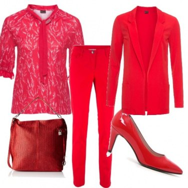 Outfit Rouge seduction