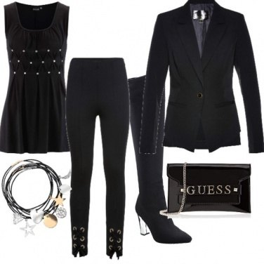 Outfit Cat style black