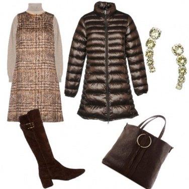 Outfit Scamiciata e dolcevita