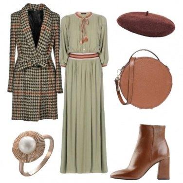 Outfit Stesso cappotto: cena fuori...