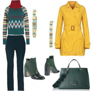 Outfit Il dolce vita colorato