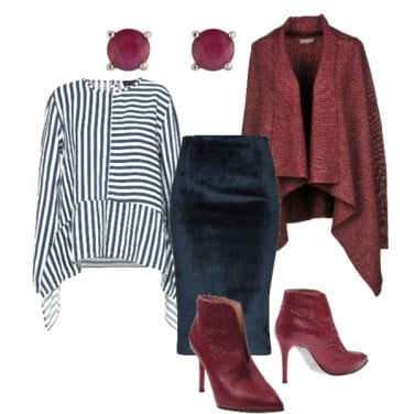 Outfit Sexy tubino