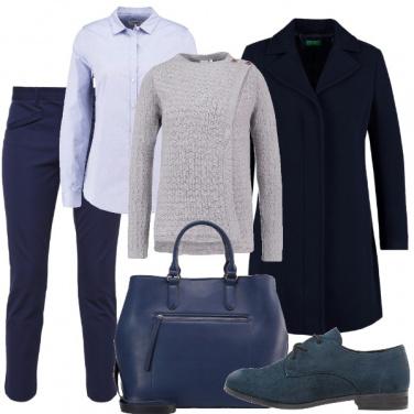 Outfit Il particolare nel cardigan