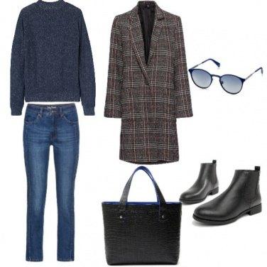 Outfit Urban, giornata invernale soleggiata