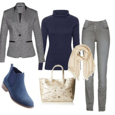 Outfit ELEGANZA autunnale