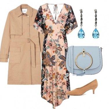 Outfit Armonie azzurro polvere