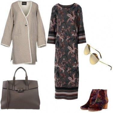 Outfit Etnico. colori autunnali