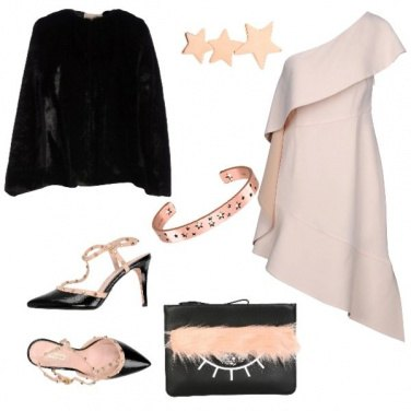 Outfit Stelle rosa