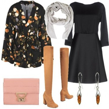 Outfit Cuissardes scamosciati