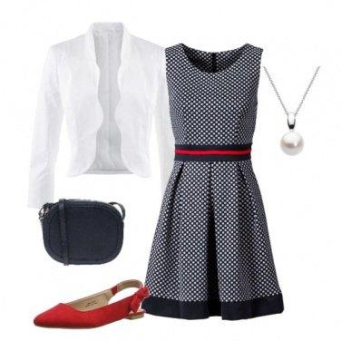 Outfit Bon ton da lavoro