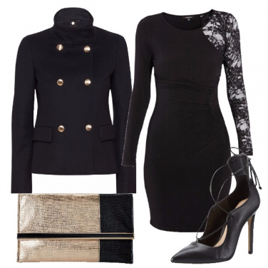 Outfit Pizzo nero