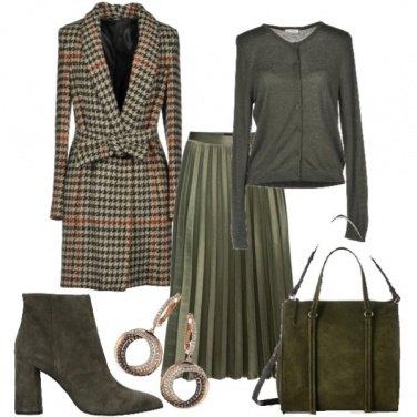 Outfit Stesso cappotto: ufficio...