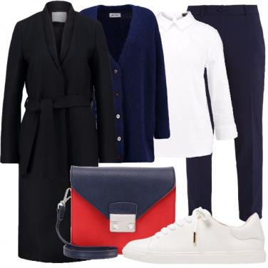 Outfit Scarpe basse con stile