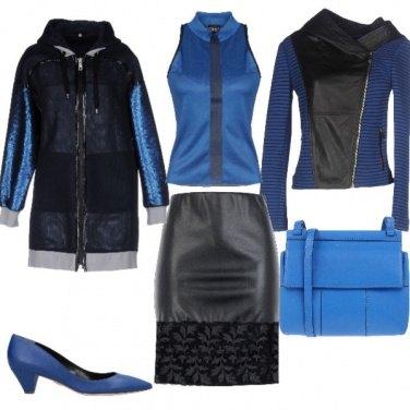 Outfit Raffinati contrasti