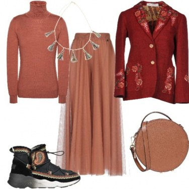 Outfit Etnico glam