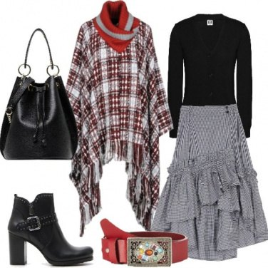 Outfit Quadri country