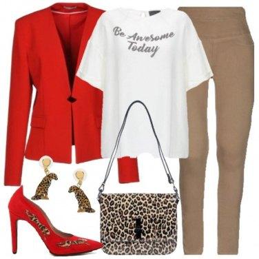 Outfit Come un ghepardo