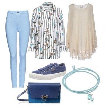 Outfit Classica in jeans e camicia