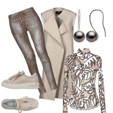 Outfit Effetto spalmato