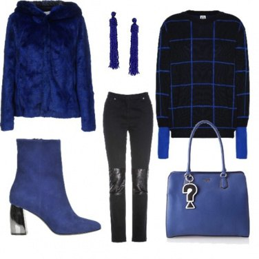 Outfit Electric blue