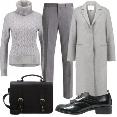 Outfit Calda in ufficio