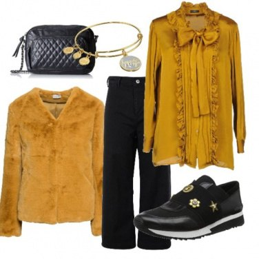 Outfit La camicia col fiocco