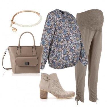 Outfit La tunica a fiorellini