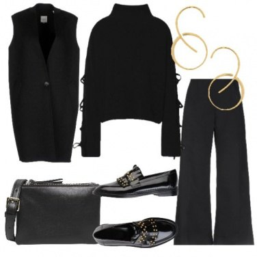 Outfit Minimal total black