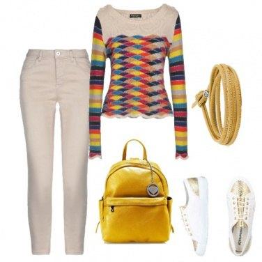 Outfit Giallo di giorno